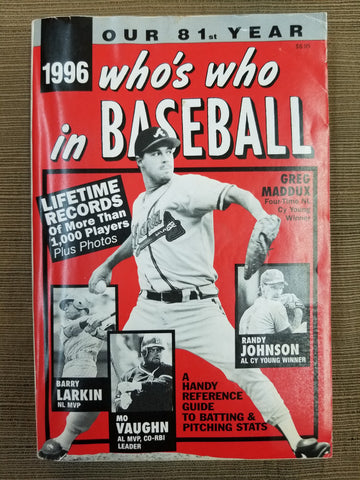 1996 Who's Who in Baseball