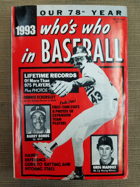 1993 Who's Who in Baseball