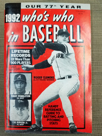1992 Who's Who in Baseball