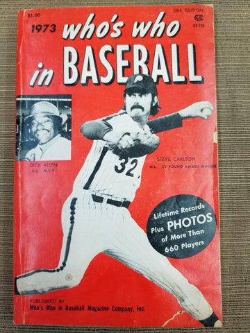 1973 Who's Who in Baseball