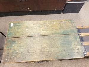 EARLY TO MID 1800's PRIMITIVE FARMHOUSE TABLE