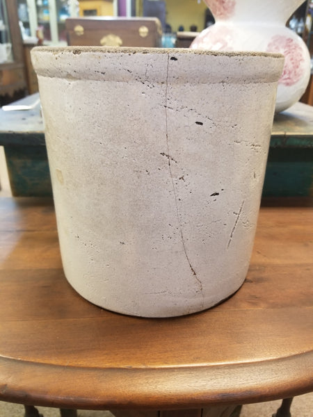 Late 1800's Early 1900's Unmarked Crock