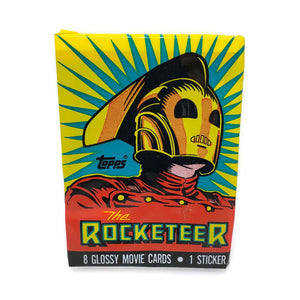 1991 Walt Disney's The Rocketeer Collector Card Pack
