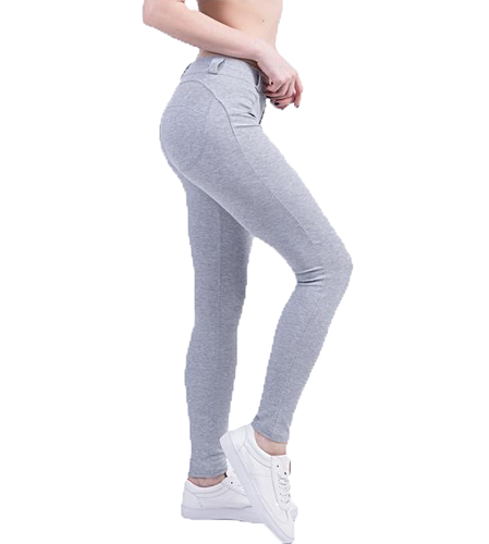 Fitted Low Waist Elastic Leggings