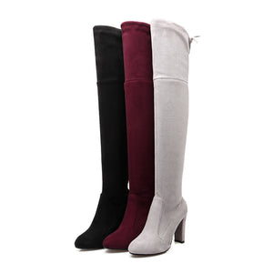 Stephanie Over the Knee Boots
