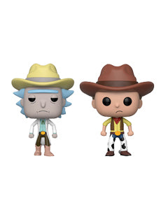Funko Western Rick And Morty Set Summer Convention 2018