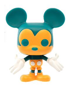 Funko Mickey Mouse Teal & Orange Funko Shop Exclusive POP! Vinyl