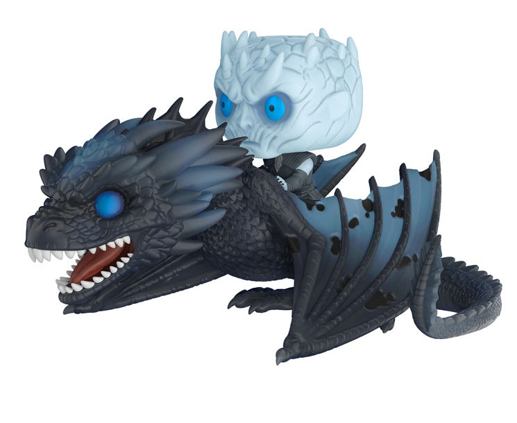 Funko Game of Thrones Night King & Icy Version POP Rides