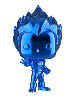 Funko Super Saiyan Vegeta (Blue Chrome) [NYCC] Pop Vinyl