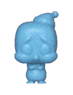 Funko Chilly Willy Translucent Blue Glitter Christmas Funko Shop Exclusive