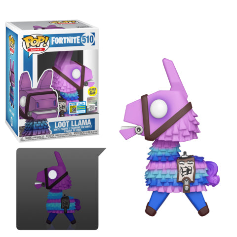 Funko Forenite Loot Llama Summer Convention Walmart Exclusive POP! Vinyl