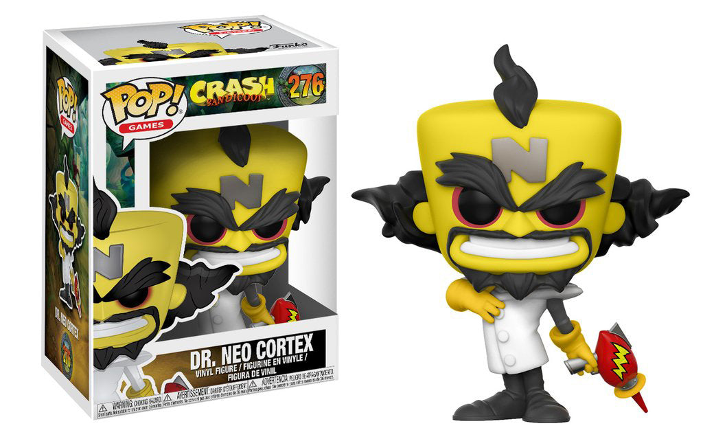 Funko POP! Games Crash Bandicoot Neo Cortex W/ Chase Possibility