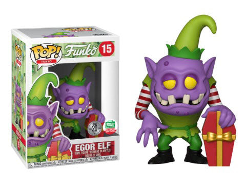 Funko Egor Elf Fantastik Plastik Christmas Funko Shop Exclusive