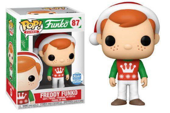 Funko Freddy Funko Elf 87 POP! Funko Shop Exclusive