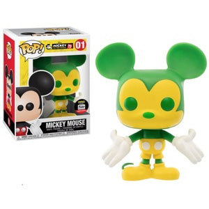 Funko Mickey Mouse Green & Yellow Funko Shop Exclusive POP! Vinyl