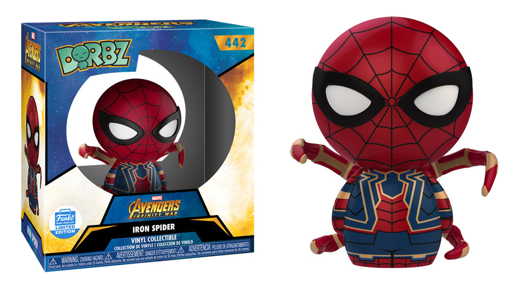 Funko Iron Spiderman Dorbz Vinyl