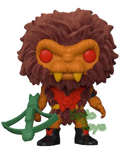 Funko Grizzlor Flocked MOTU Funko Shop Exclusive POP!
