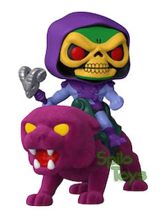 Funko Skeletor on Panthor Flocked MOTU Funko Shop Exclusive POP! Rides