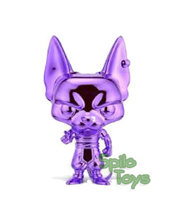 Funko Beerus Purple Chrome POP! Vinyl Funimation Excl.