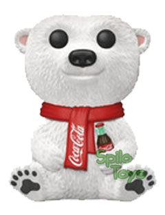 Funko Coca Cola Bear Flocked AD Icons POP! Vinyl