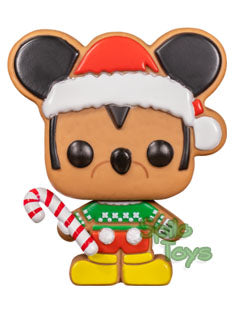 Funko Gingerbread Mickey Mouse POP! Funko Shop Exclusive