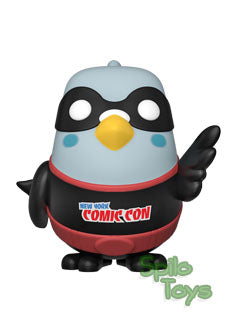 Funko Paulie Pigeon Black Funko Shop Exclusive 2019 Fall Convention POP! Vinyl