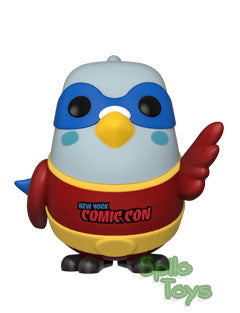 Funko Paulie Pigeon Red Funko Shop Exclusive 2019 Fall Convention POP! Vinyl