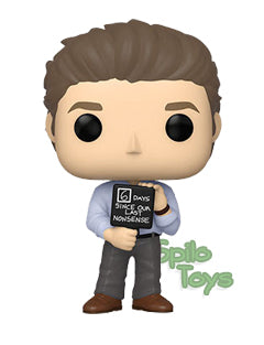Funko Jim Halpert w/ Nonsense Sign POP! Vinyl