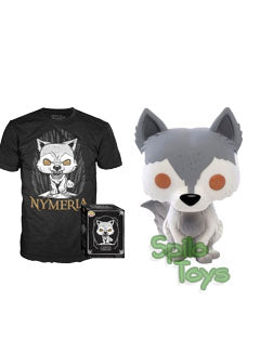 Funko Nymeria POP with Tee Game of Thrones Vinyl