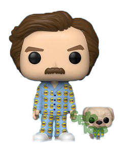 Funko Anchorman Ron with Baxter POP! Funko Shop Exclusive 2020 Summer Convention