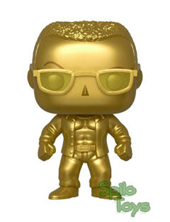 Funko The Rock Gold Chrome Fall Convention 2019 POP! Vinyl