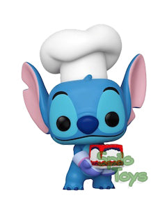 Funko Stitch as Baker Fall Convention POP! Vinyl