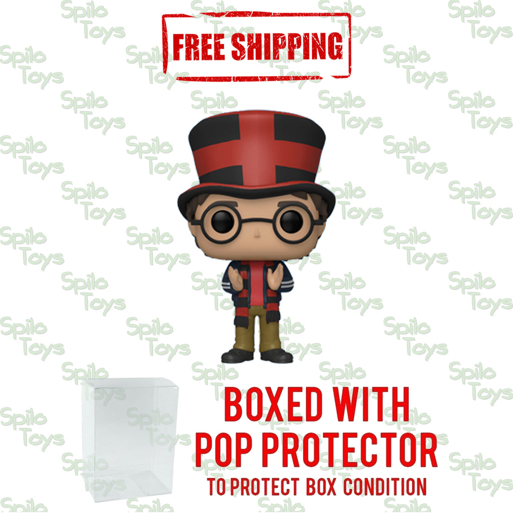 Funko Harry Potter Harry at World Cup POP! Funko Shop Exclusive 2020 Summer Convention