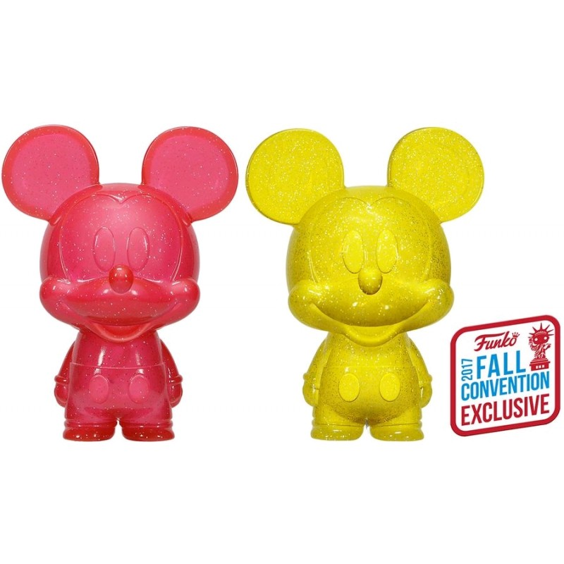 Funko Mickey Mouse Mini Hikari 2 Pack Vinyl Figure 2017 Fall Convention Exclusive