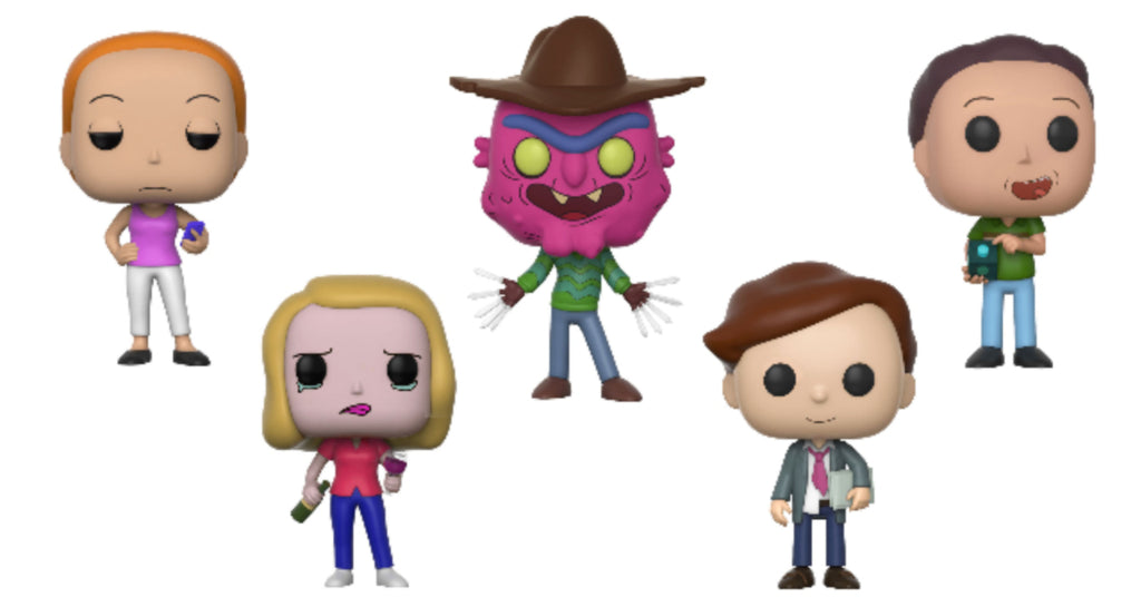 Funko POP! Rick and Morty Wave 3