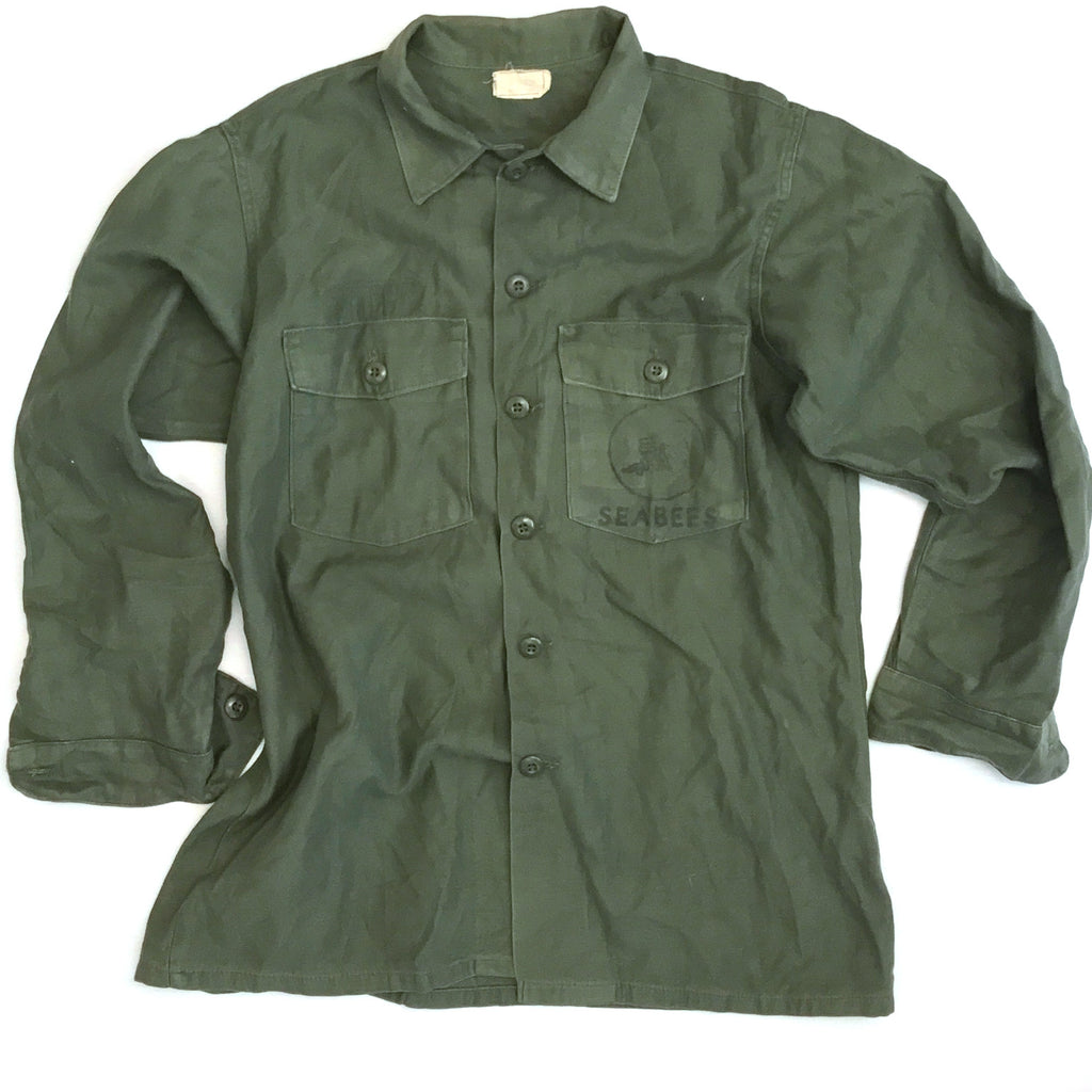Vintage Military Issued Field Shirt