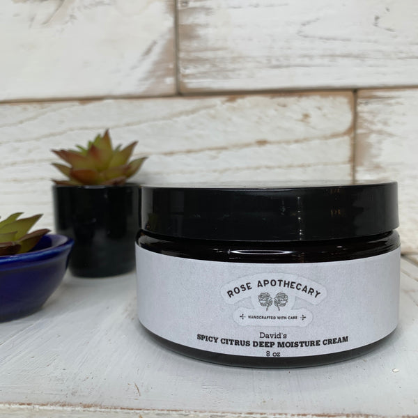 David's Spicy Citrus Deep Moisture Cream - Rose Apothecary - Shitt's Creek