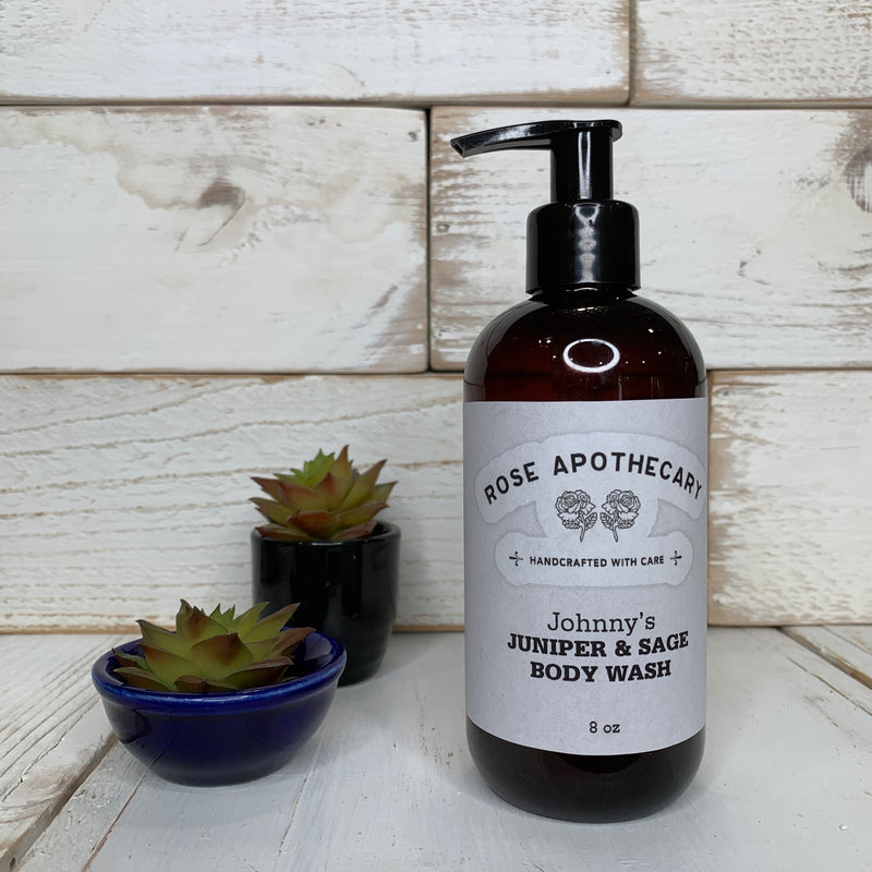 Johnny's Juniper & Sage Body Wash - Rose Apothecary - Shitt's Creek