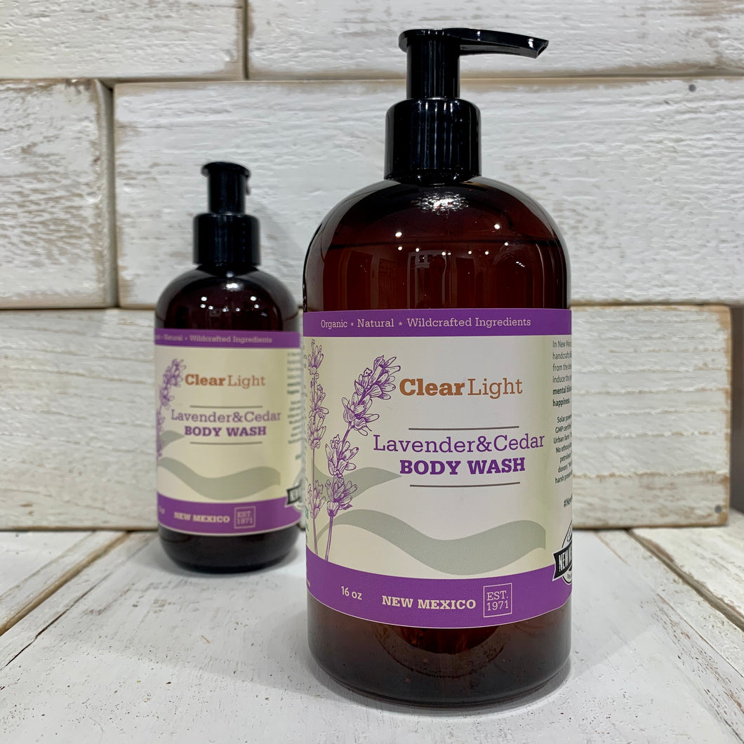 Lavender & Cedar Body Wash