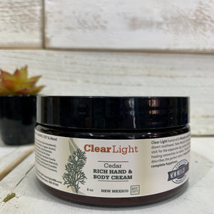 Cedar Rich Hand & Body Cream