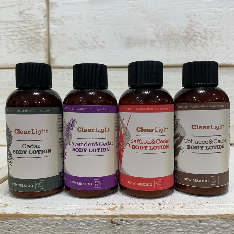 Lotion Travel Sizes: Individual or Pack with 4 Scents - Limited Edition
