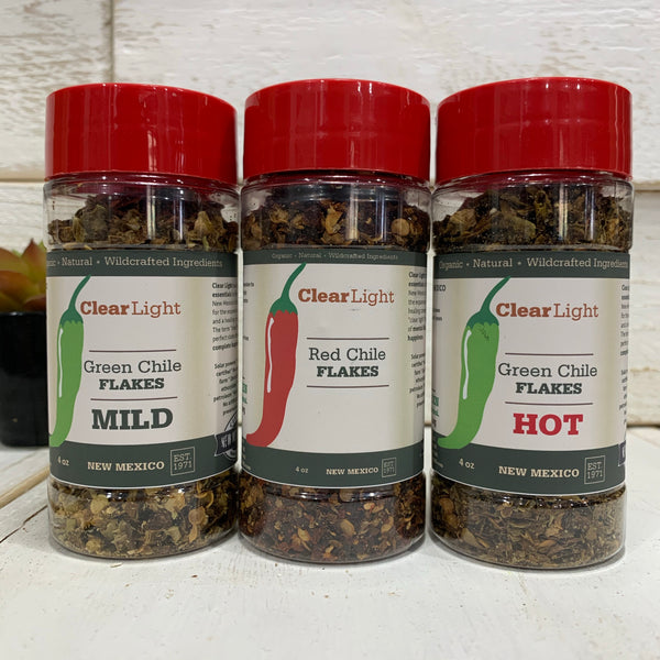 New Mexico Chile Flakes - 4 oz Bottle