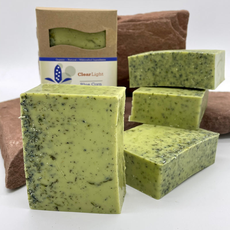 Blue Corn, Mint & Cedar Bar Soap