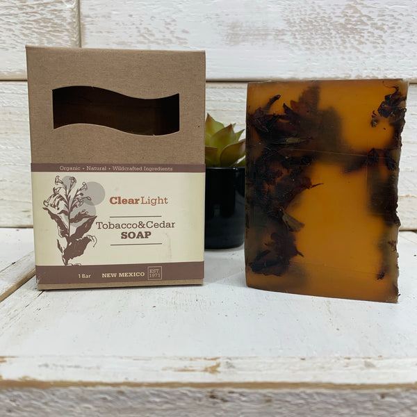 Tobacco & Cedar Bar Soap