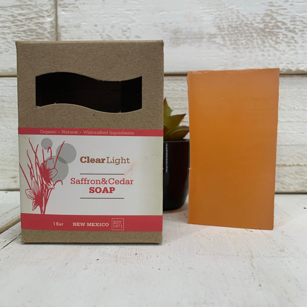 Saffron & Cedar Bar Soap