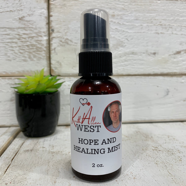 Keith Allen West's Hope and Healing Mist 2 oz