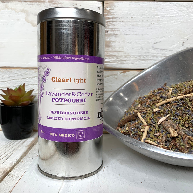 Lavender & Cedar Potpourri - Limited Edition Tin 8 oz
