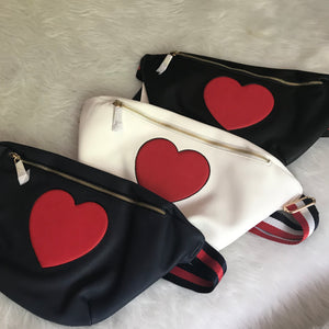 Oversized Fanny Pack - Black