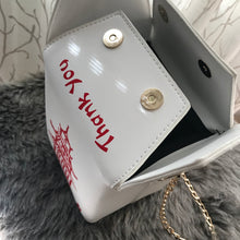 Take Out Inspired Bag - White/Red