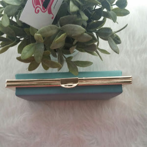 Mint Cocktail Clutch